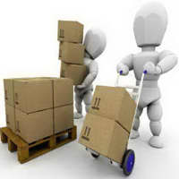 Kurier- und Paket